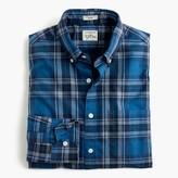 J.Crew Secret Wash shirt in heather classic blue tartan