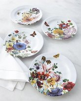 Juliska Four Field of Flowers Party Plates