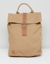 Mi-Pac Canvas Backpack In Sand
