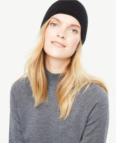 Ann Taylor Cashmere Jersey Hat