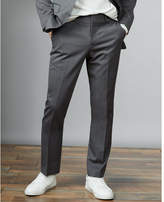 Express classic gray wool blend suit pant
