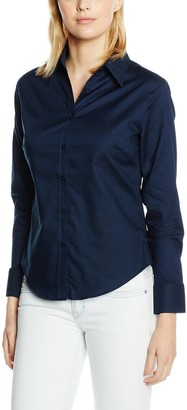 Fruit of the Loom Women's Oxford Long Sleeve Shirt