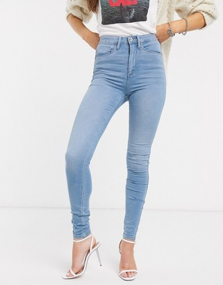 Only high waisted skinny jean