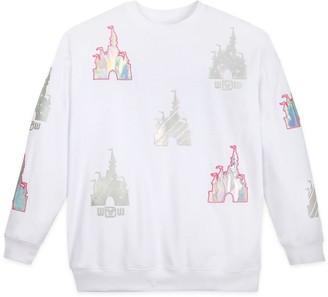 Disney Cinderella Castle Icon Pullover Sweatshirt for Women Walt World