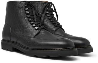 John Lobb Helston Full-Grain Leather Boots