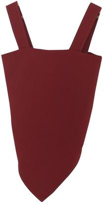 Maison Margiela Red Wool Top for Women
