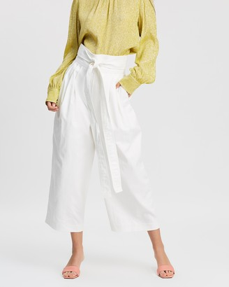 Marc Jacobs Belted Denim Trousers