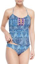 Nanette Lepore Honey Paisley-Print Tankini Swim Top