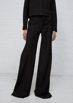 R 13 Black Wide Leg Trouser