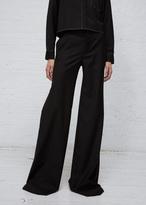 R 13 black wide leg trouser