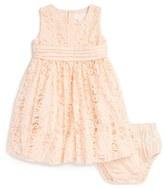 Pumpkin Patch Sleeveless Lace Dress (Baby Girls)