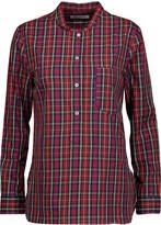 Etoile Isabel Marant Brenda plaid cotton-poplin shirt