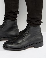 G Star G-Star Guard Lace Up Leather Boots