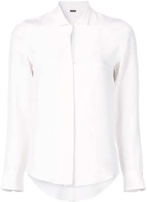 Adam Lippes Slit Detail Shirt