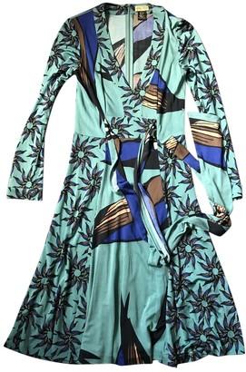 Issa Multicolour Silk Dress for Women