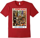 JET Travel Poster, Hong Kong, Tee Shirt