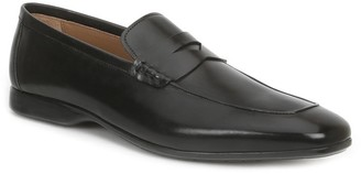 Bruno Magli Margot Burnished Calf Penny Loafers