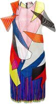 Christopher Kane geometric macrame dress - women - Polyamide/Polyester/Acetate/Viscose - 10