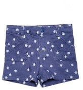 Margherita Girl's Daisy Embroidered Shorts