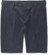 Paul Smith Brushed-Cotton Chino Shorts