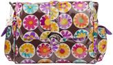 Kalencom Daisy Chocolate Laminated Diaper Bag