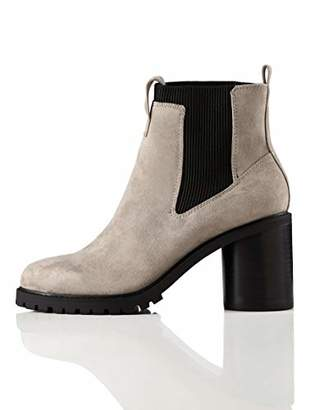 Amazon Brand - find. Chunky Sole Chelsea Boots