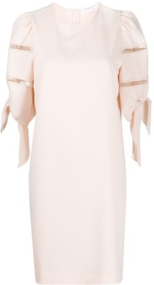 See by Chloe Short Puff-Sleeves Dress