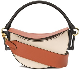 Yuzefi Dip half-moon shoulder bag