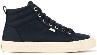 Cariuma OCA High Navy Canvas Sneaker