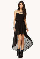 Forever 21 Pretty Cutout High-Low Dress
