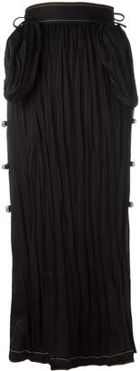 Loewe Long Bell Embellished Skirt
