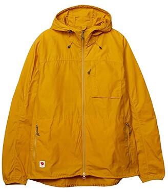 Fjallraven High Coast Wind Jacket (Ochre) Women's Clothing