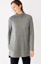 J. Jill Pure Jill Sueded-Cotton A-Line Tunic
