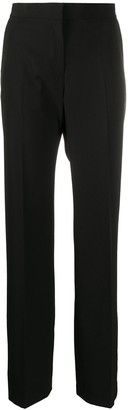 MSGM High-Rise Straight Trousers