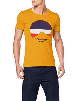 S'Oliver Men's 13.907.32.7851 T-Shirt,Small
