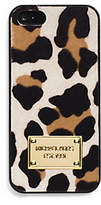 Michael Kors Mara Hair Calf Phone Case For Iphone 5