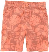 Carter's Print Bermuda Shorts (Toddler/Kid) - Peach-3T