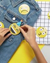 NPW Suit Your Mood Emoji Badge