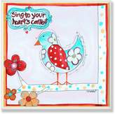 Stupell Industries The Kids Room by Stupell Sing to Your Heart's Content Square Wall Plaque