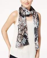 Echo Stems For Days Silk Oblong Scarf