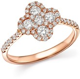 Bloomingdale's Diamond Clover Ring in 14K Rose Gold, .75 ct. t.w. - 100% Exclusive