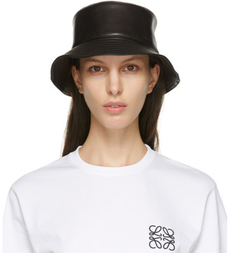 Loewe Black Fisherman Bucket Hat