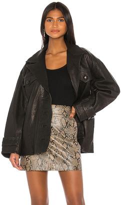 GRLFRND Moises Leather Jacket