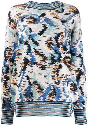 Missoni all-over pattern jumper