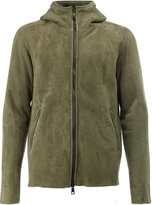 Giorgio Brato hooded zip jacket - men - Sheep Skin/Shearling - 50
