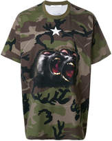 Givenchy Columbian-fit Monkey Brothers T-shirt