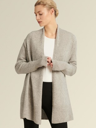 DKNY Open-front Cashmere Cardigan