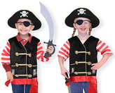 Melissa & Doug Pirate Role Play Costume Set