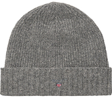 Gant Wool Cotton Beanie Hat, One Size, Grey