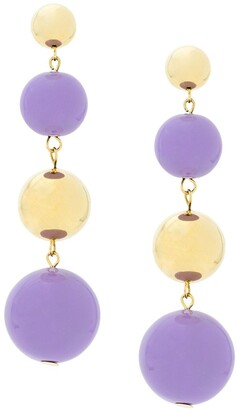 Eshvi Ball Drop Earrings